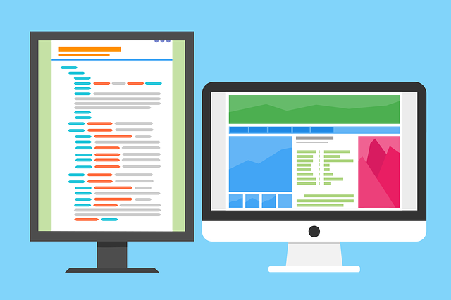 Dual Screen Programming Coding  - 200degrees / Pixabay