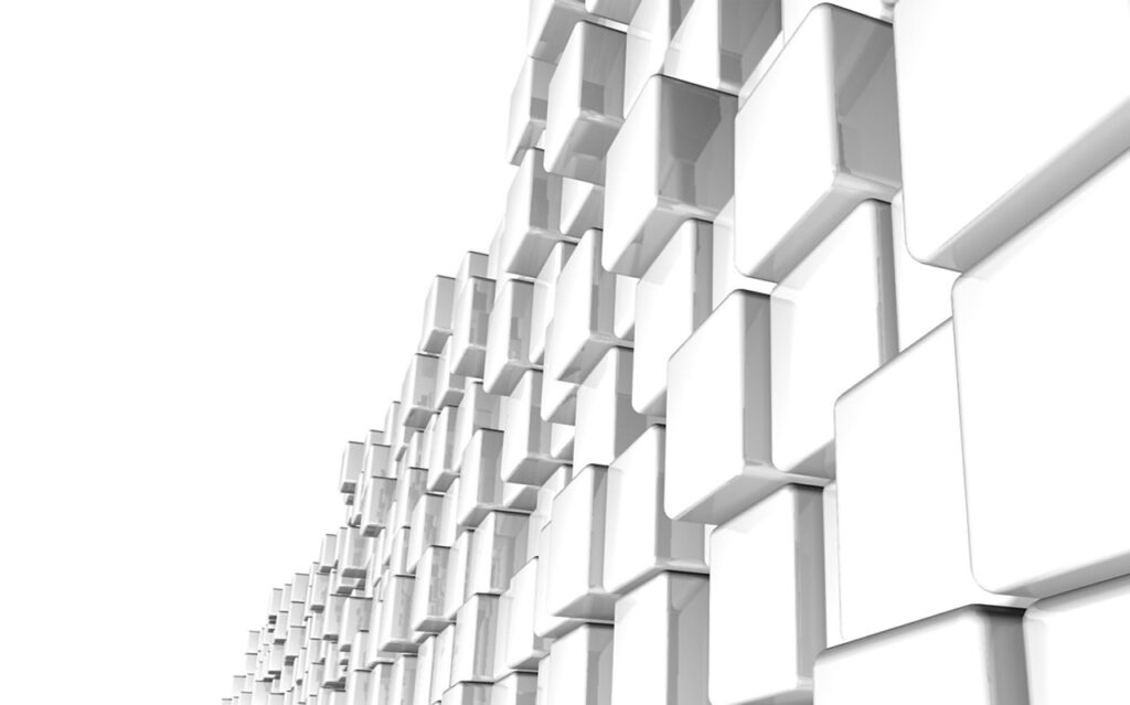 White Background Cubes Architecture  - icame / Pixabay