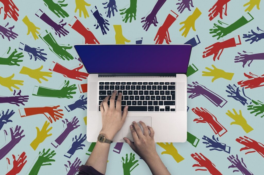 Laptop Keyboard Hands Pc Write  - geralt / Pixabay